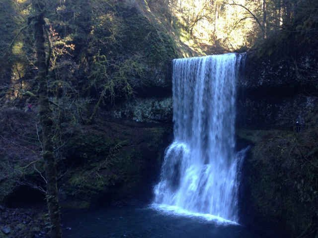 Silver Falls State Park near Silverton is one of 28 state parks participating in First Day Hikes.