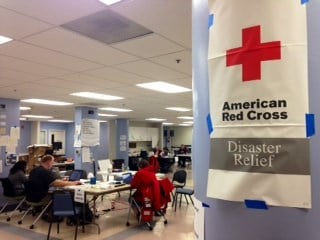 The Red Cross Disaster Operations Headquarters in North Portland.