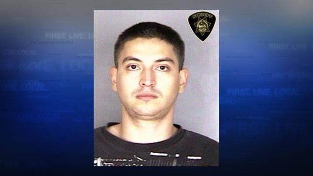 Rudy Espinoza, jail booking photo