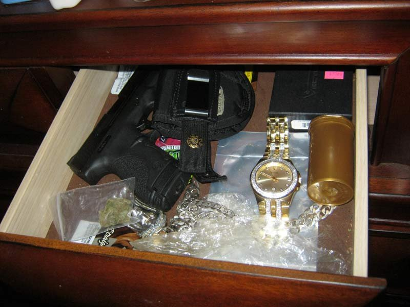 Evidence photo from Multnomah County Sheriff's Office