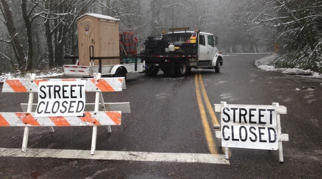 Germantown Road closure