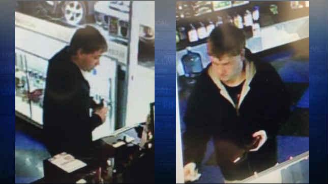 Surveillance images of suspect (Photo: Battle Ground Police Dept.)