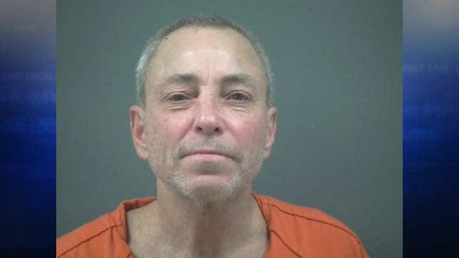 Mark Paul McKenzie, jail booking photo