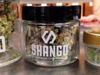 3.5 grams of marijuana flower at Shango on Friday.