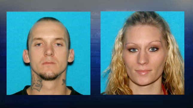 Eric Maxfield and Leola Voepel mugshots (Photos: Springfield Police Department)
