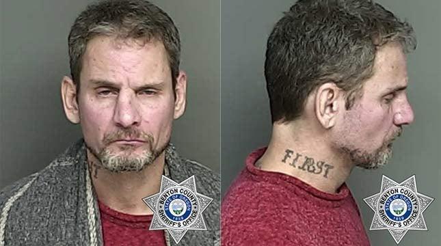 Donald Thomas Howard, jail booking photo