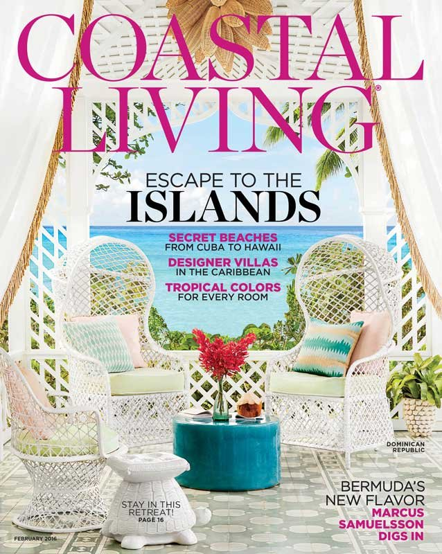 Seaside will be featured in the February issue of 'Coastal Living,' on newsstands Jan. 8.