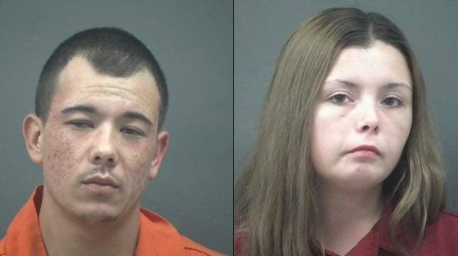 Antone Dean Bernal, Malia Loraine Davis, jail booking photos