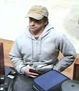 Bank robbery suspect (Photo: Medford police/Facebook)
