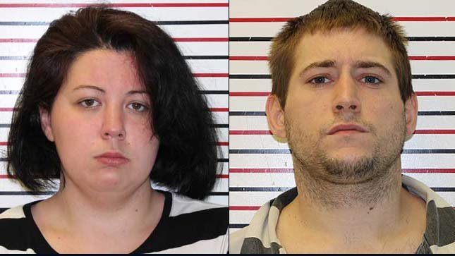 Dorothy Wing, Randy Roden, jail booking photos