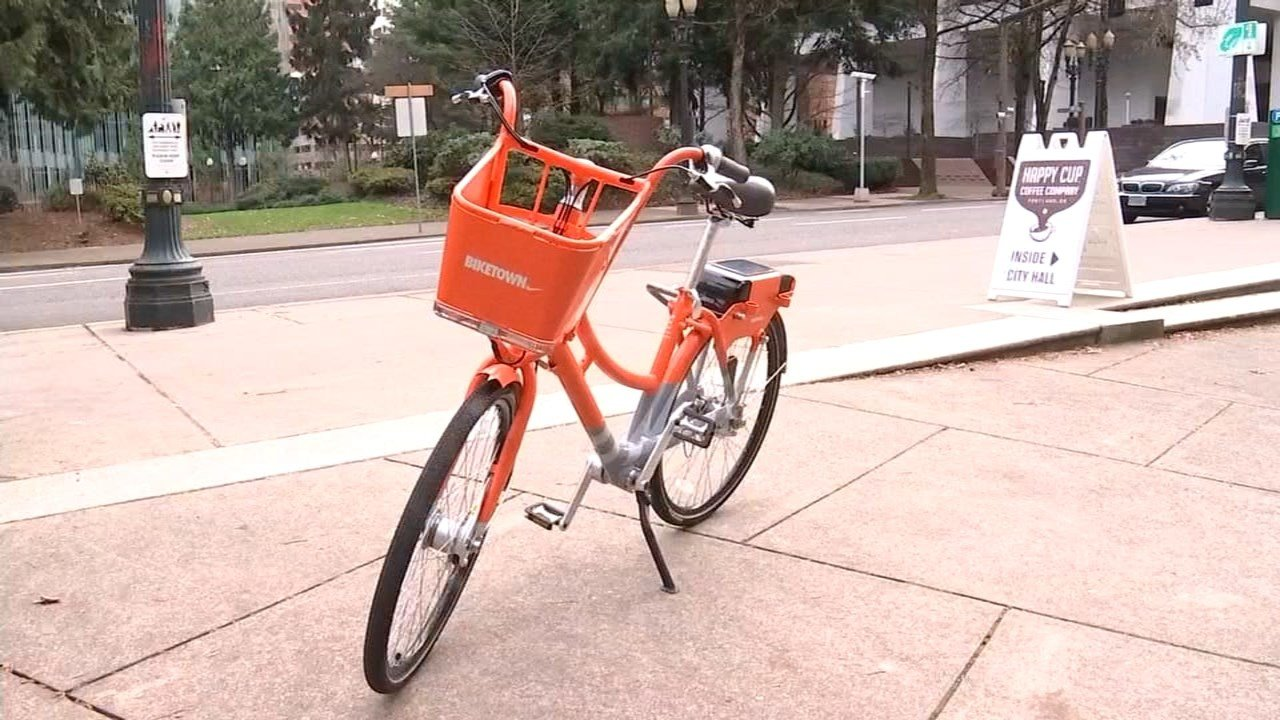 New bikes provided by Nike.