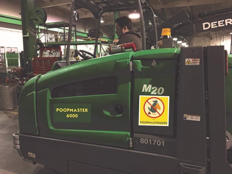 """The """"Poopmaster 6000"""" (Photo: Portland Mall Management Inc.)"""
