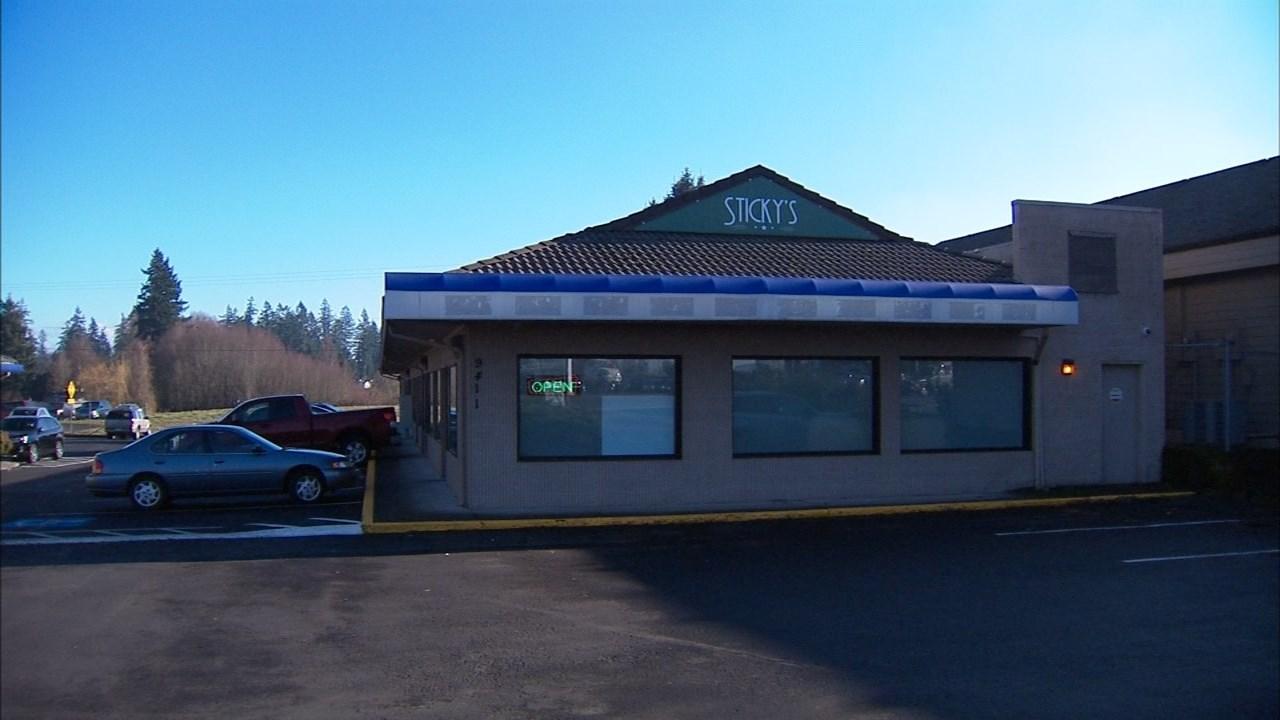 Sticky's Pot Shop in Hazel Dell. (KPTV file image)