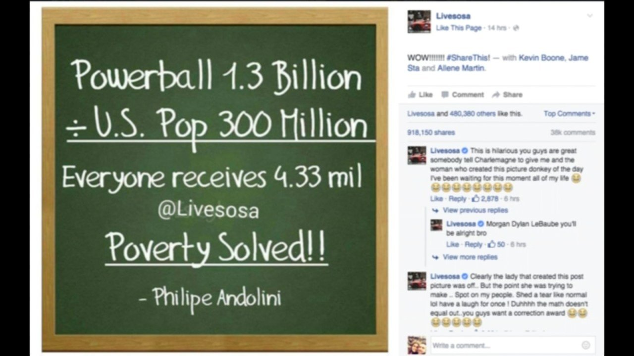 how to solve world poverty from the lotto