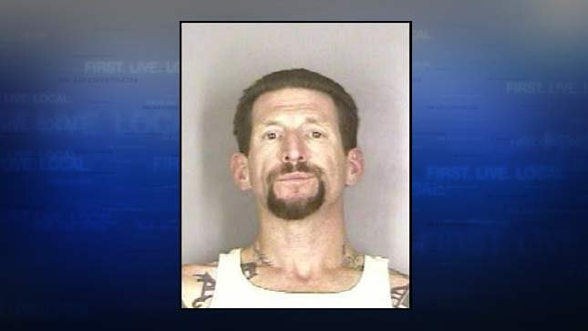 Richard Jay Wheeler is wanted by police on attempted murder charges (prior jail booking photo)