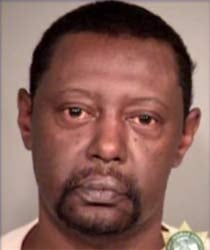 Gary Clark, jail booking photo