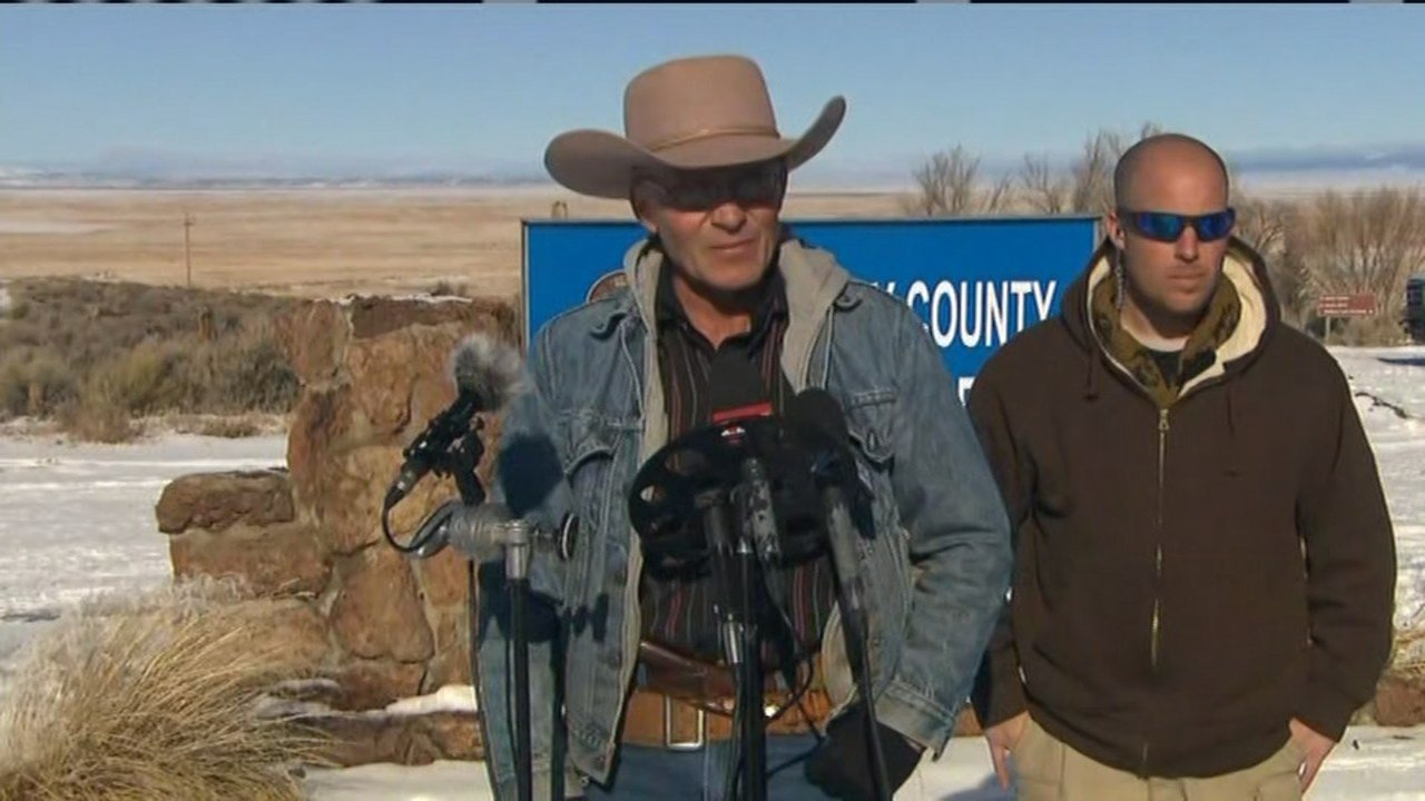"Lavoy Finicum said Friday, ""We would like to ask the FBI to go home."""