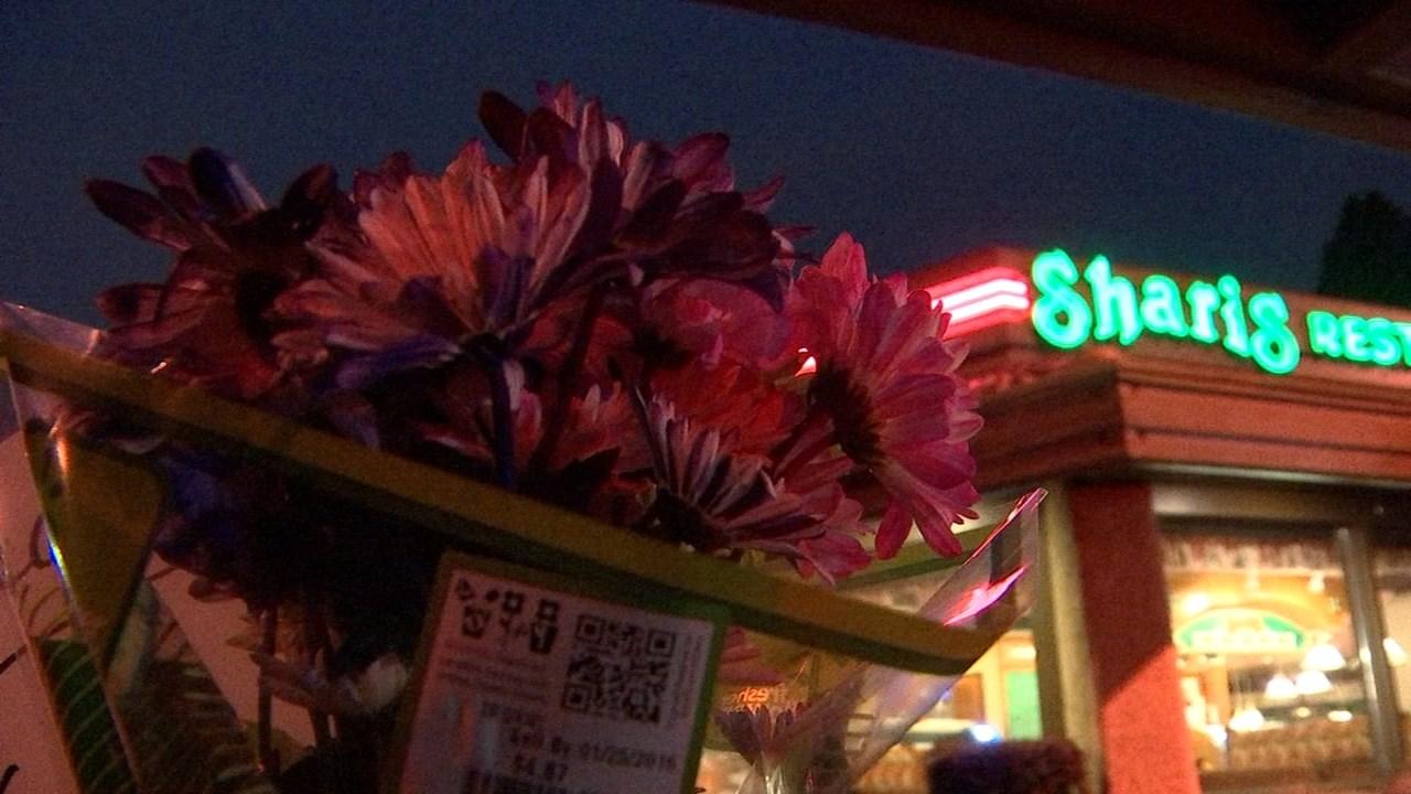 Deadly shooting scene outside Shari's in Corvallis in January. (KPTV file image)