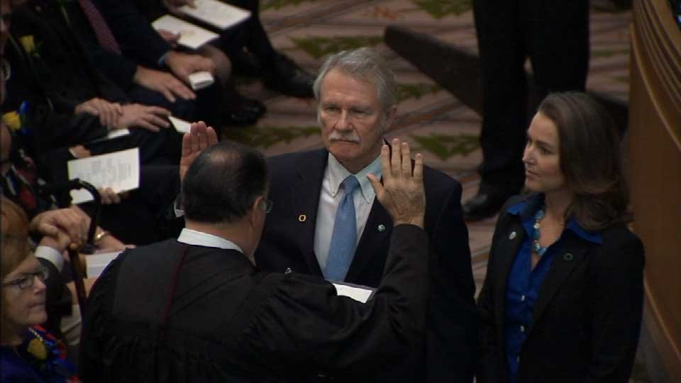Former Gov. John Kitzhaber and Cylvia Hayes (File photo)