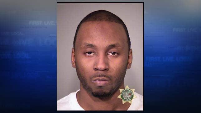 Borissean Washington, jail booking photo