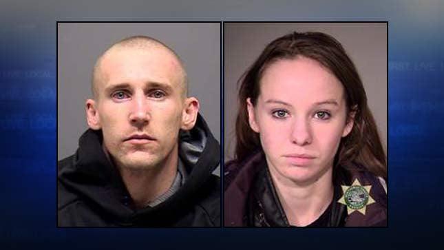 Wesley Romero, Deborah Musselwhite, jail booking photos