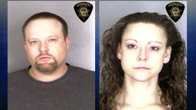 Donnie Carpenter and Alexandria Carpenter booking photos (Photo: Marion County Correctional Facility)