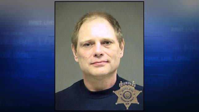 Michael O'Toole, jail booking photo