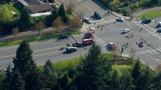 Deadly crash scene on Padden Parkway in April 2014