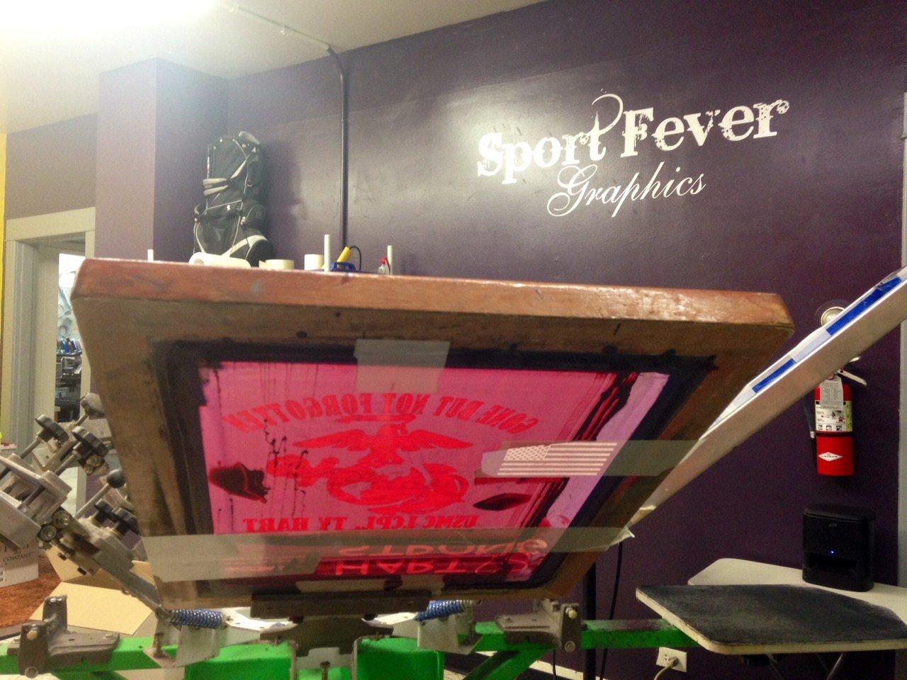 Sport Fever Graphics in Stayton.