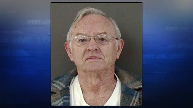 Richard Wade Conklin, jail booking photo