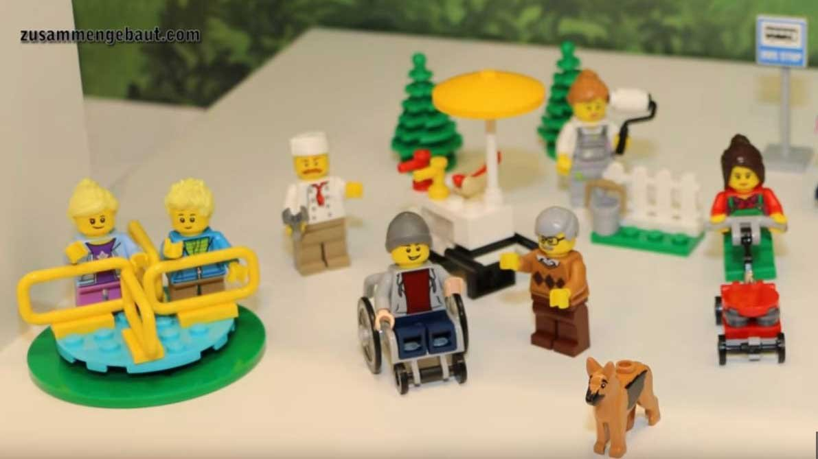 Screenshot of YouTube video from user Zusammengebaut of the new LEGO set.