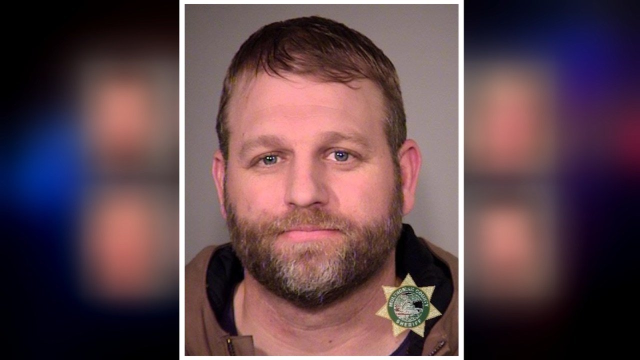 Ammon Bundy, jail booking photo