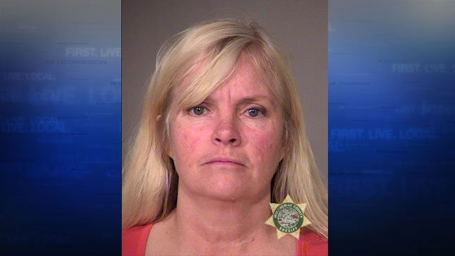 Shawna Cox, jail booking photo