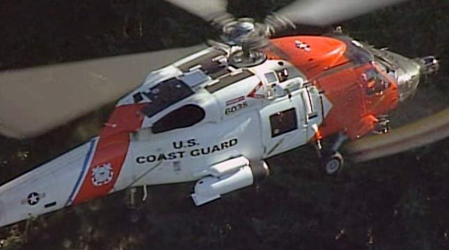 U.S. Coast Guard helicopter (file image)