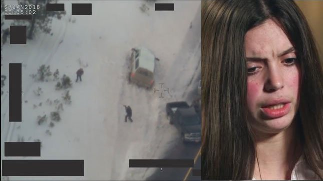 In an interview with CNN, Victoria Sharp said she is certain protester LaVoy Finicum was unjustly gunned down by state police after they and the FBI pursued his vehicle in southern Oregon.