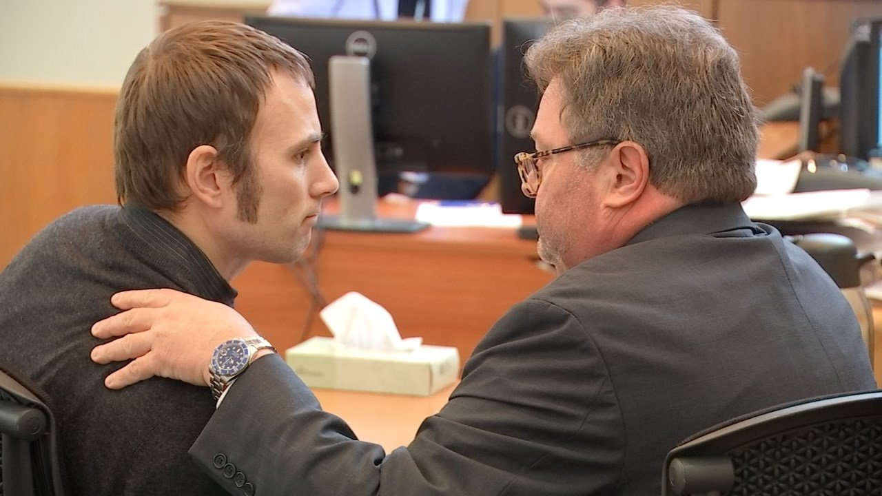 Jason Hogan Jr. in court Wednesday.