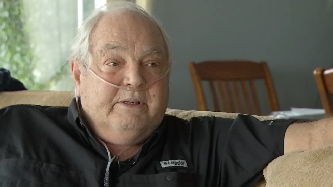 David Weisen, 72, fought off a home invasion suspect trying to enter his Vancouver home in spite of a serious illness.