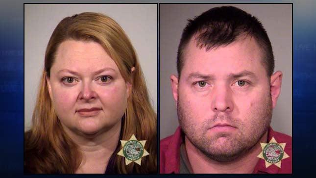 Jail booking photos of Janet Lynn Porter, Thomas Gene Duncan Jr.