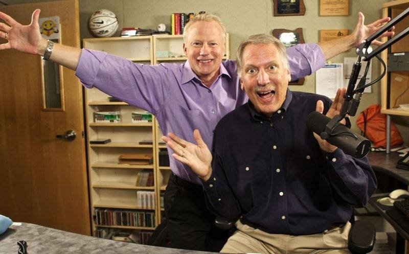 Dave Anderson (left) and Mark Mason (right) (Courtesy: KPAM)