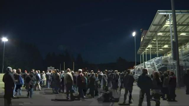 Fallen officer remembered in hometown of Sherwood