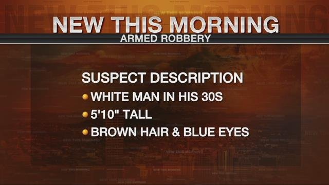 Deputies searching for man who robbed Vancouver restaurant at gunpoint
