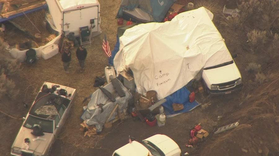 The remaining occupiers at the Malheur National Wildlife Refuge surrendered Thursday and seven additional suspects were arrested in six states. (Air 12 image)