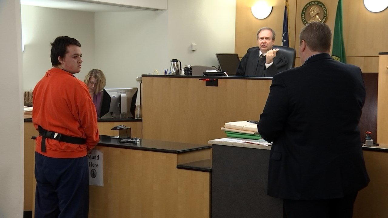 Christopher Philbrook pleaded guilty to second-degree assault for an attack on a classmate at Columbia River High School in February. (KPTV file image)