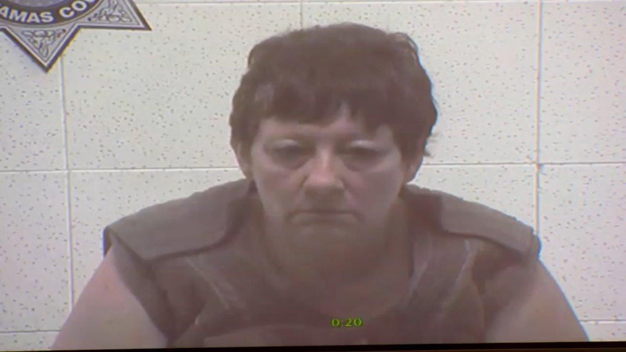 Lisa Marie Peterson in court Friday to be arraigned on the charge of murder.