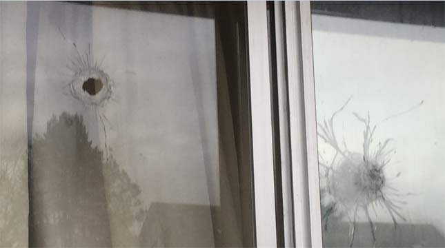 An Aloha house was hit by gunfire in a drive-by shooting Monday morning. (Photo: Washington County Sheriff's Office)