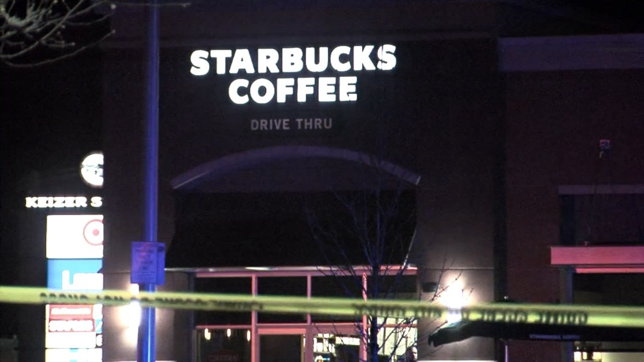 A man was shot and killed outside Starbucks at Keizer Station on Sunday night.