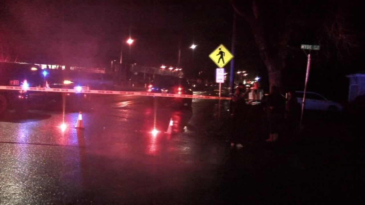 Deadly crash scene in Salem on Saturday night.
