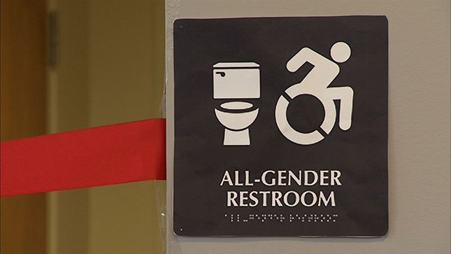 Pacific University unveiled newly designed all-gender bathrooms.