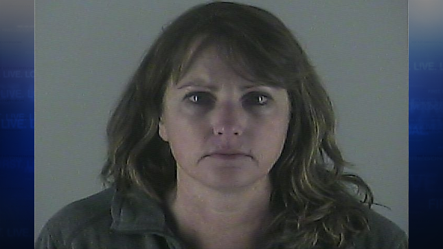 Angela Judd, jail booking photo (Photo: Deschutes County Sheriff's Office)