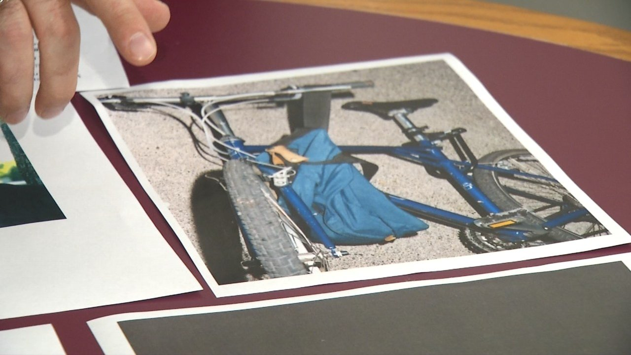 Cold case investigators think Timm Kruger's bicycle may be the key to finding his killer.
